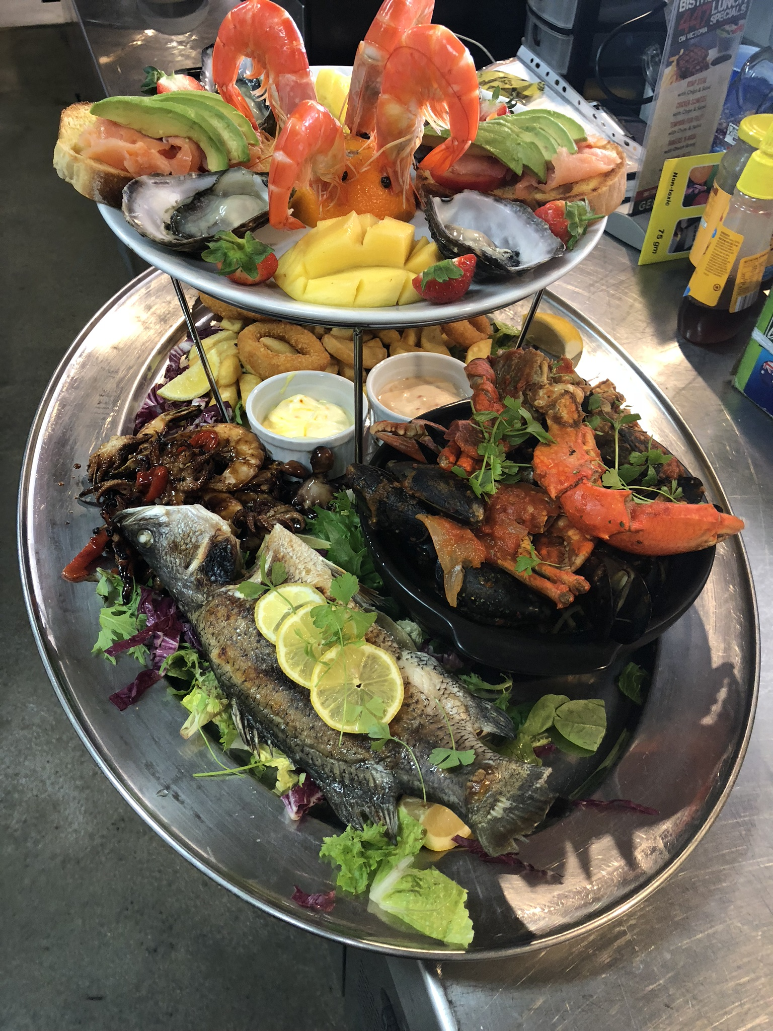 Seafood Platter The Cook Town